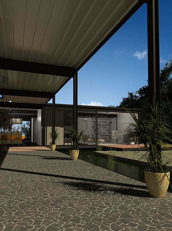 Terrace: Palladiana XL - Silvagrey