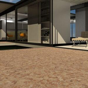 Terrace: Oval M - Cream