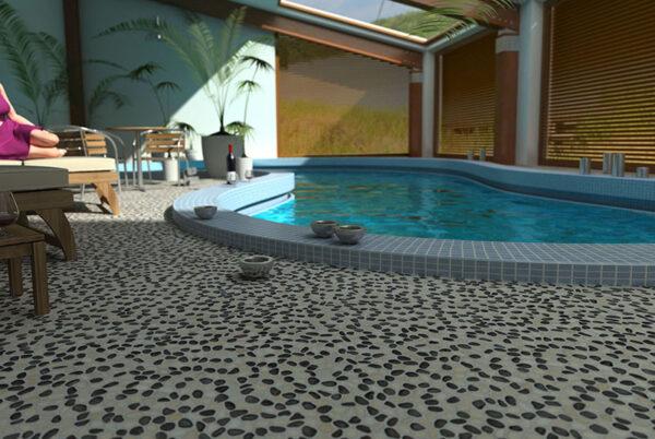 Terrace: Beachstone S - Dark White