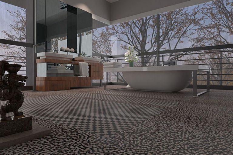 Bathroom: Palladiana XS - Biancone Silvagrey
