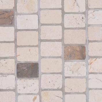 Mosaics 27 - Biancone Perlagrey