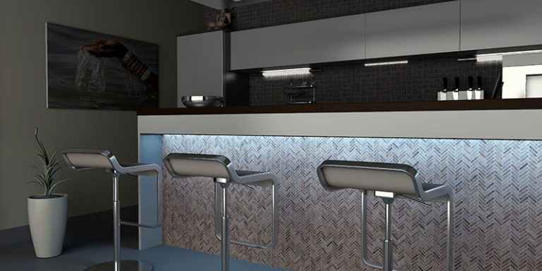 Kitchen: Mosaics 9 VIS - Silvagrey Perlagrey