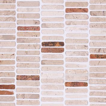 Mosaic 9 ROW - Biancone Monterosa