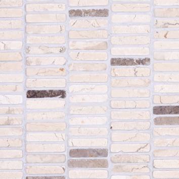 Mosaic 9 ROW - Biancone Perlagrey