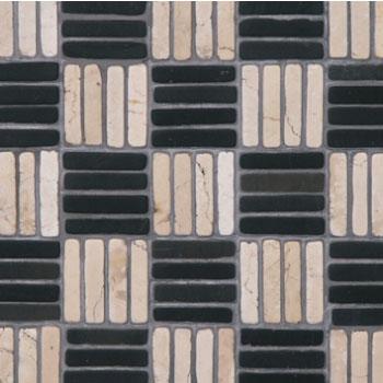 Mosaics 9 Blok - Biancone Silvagrey