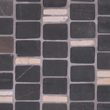 Mosaics 27/9 - Silvagrey Biancone