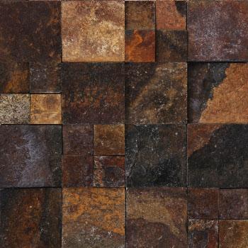 Squares - Brown Sandstone 27/54